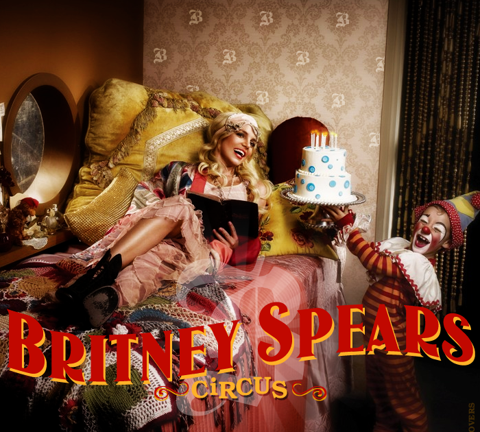 Coverlandia - The #1 Place for Album & Single Cover's: Britney Spears -  Circus (FanMade Album Cover)