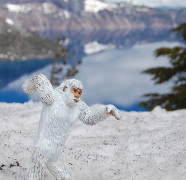 BIGFOOT NEWS and SASQUATCH SIGHTINGS: YETI Attack at Crater