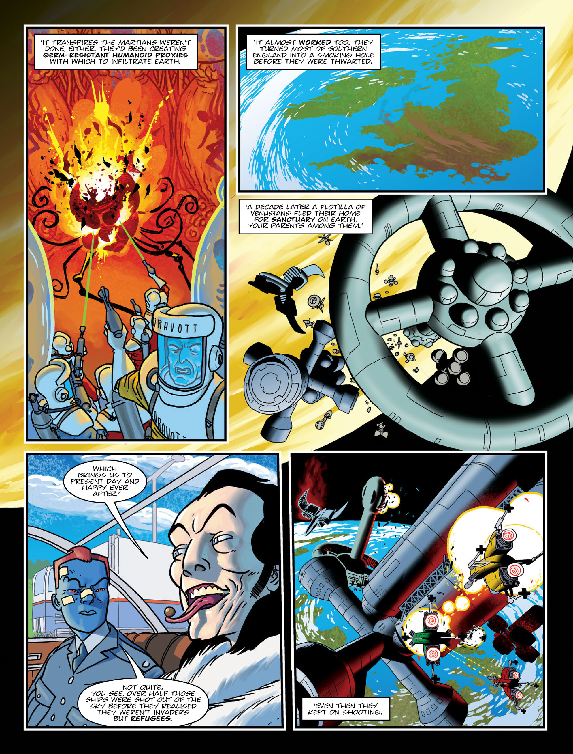 Read online 2000 AD comic -  Issue #1991 - 28