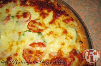 Best Ever Homemade Pizza ألذ بيتزا ستافد كراست بالبيت