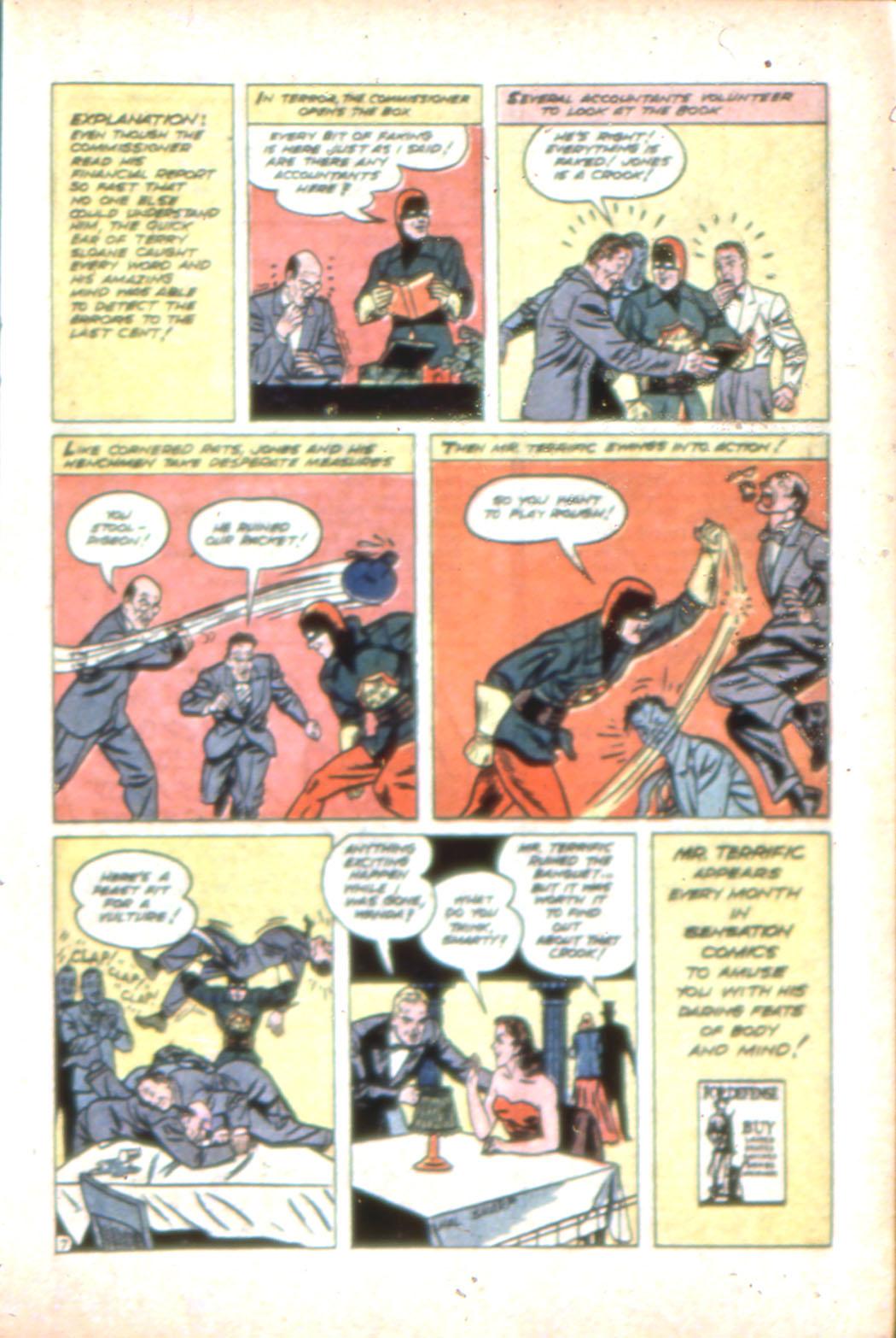 Read online Sensation (Mystery) Comics comic -  Issue #7 - 31