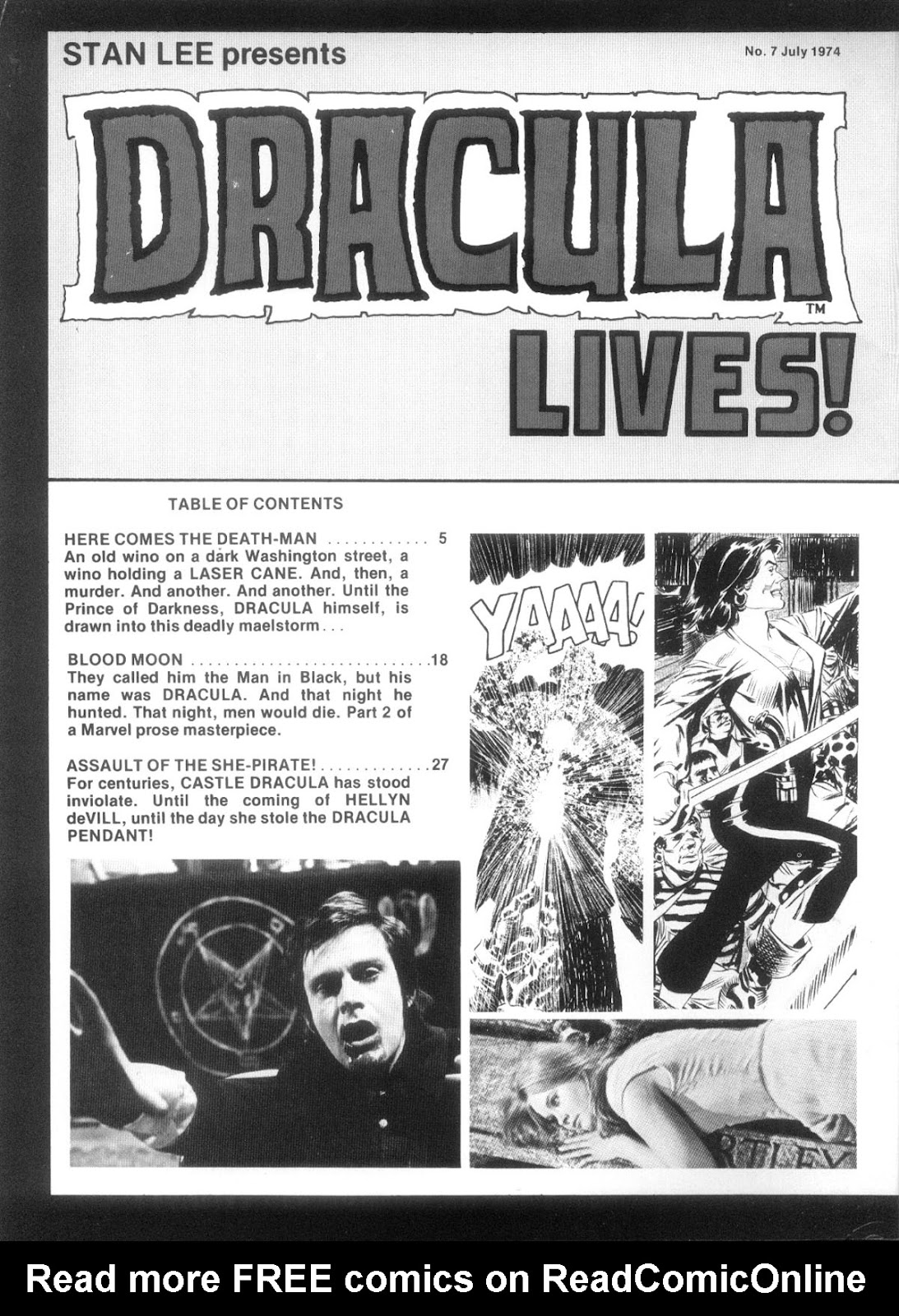 Dracula Lives issue 7 - Page 3