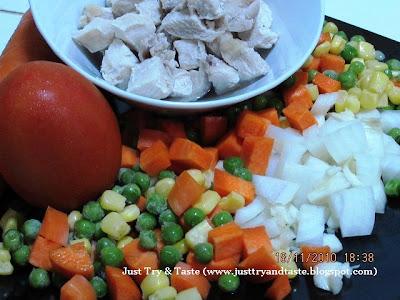 Resep Sup Ayam dan Sayuran Kaya Rempah JTT