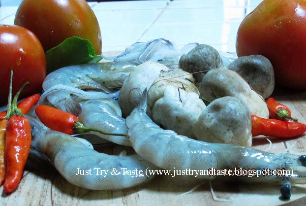 Resep Tom Yam Seafood JTT