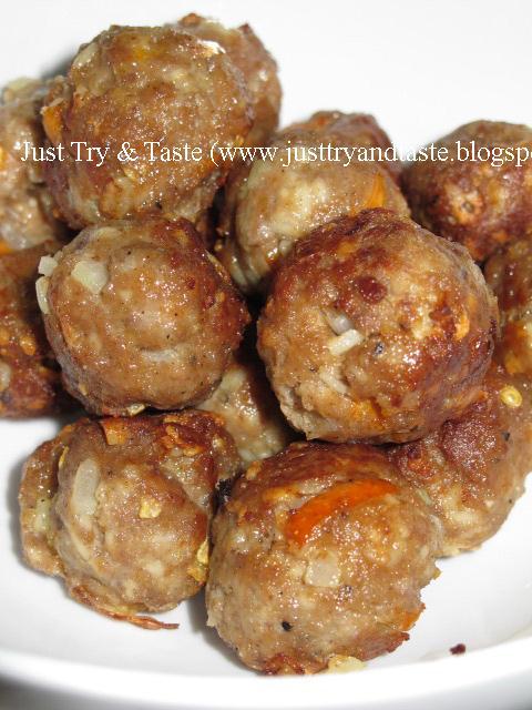 Resep Spaghetti Meatballs a la JTT