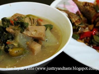 Resep Tumis Pedas Ikan Layang & Sayur Lodeh
