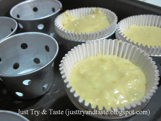 Resep Muffin Keju Lemon (Lemon Cheese Muffins) JTT