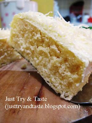 Resep Cake Kukus Keju Lemon JTT