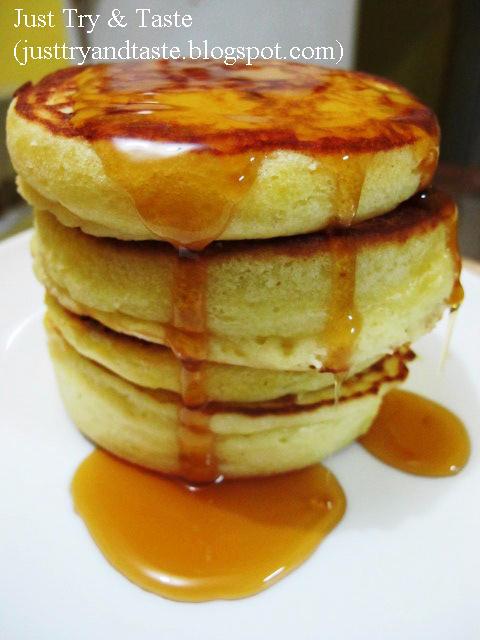 Resep Pancakes - Simple Pancake, Lembut dan Sedap!