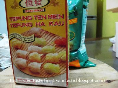 Resep Adonan Dasar Untuk Kulit  Dumpling dan Siomay JTT