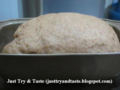 Resep Homemade Roti Gandum JTT