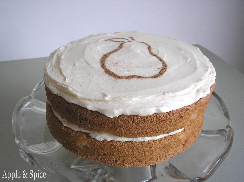 Apple & Spice: Spiced Pear Cake With Star Anise