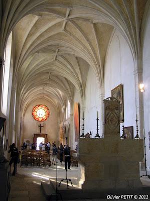 Nancy - La nef de l'église des Cordeliers