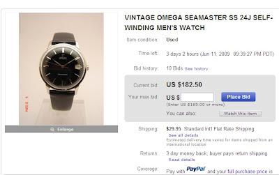 Fake Omega Seamaster Watch