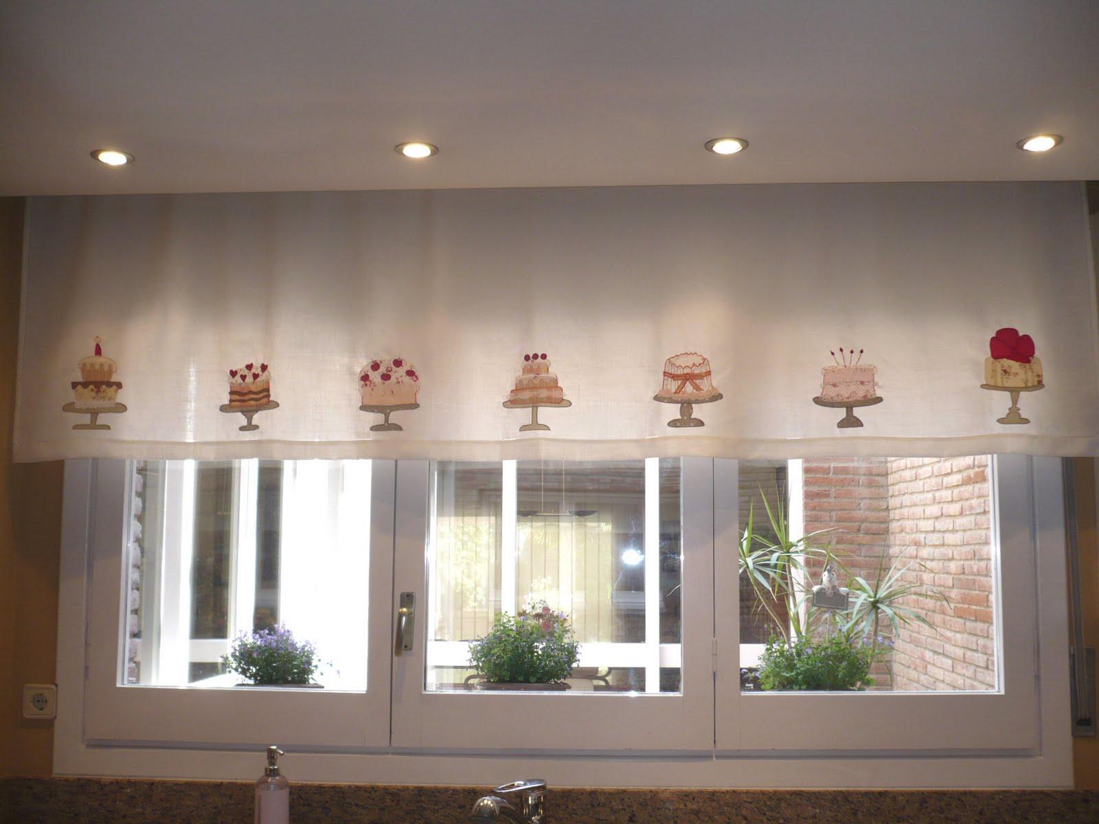Petits Punts Patch Cortinas Para La Cocina - Que-cortinas-poner-en-la-cocina