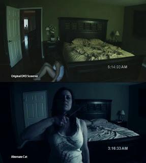 paranormal activity alternate ending