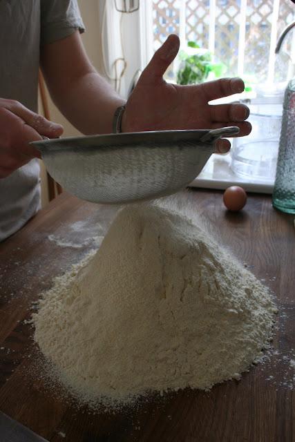pasta flour for ravioli