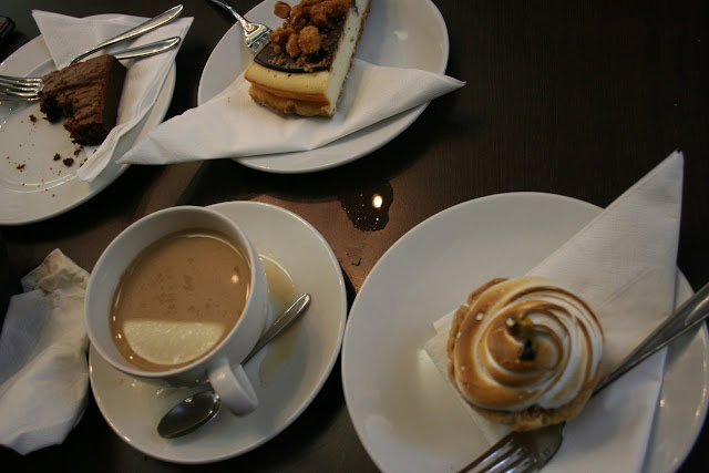 cake and coffee at Bea's of Bloomsbury