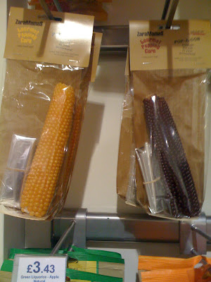 Popcorn that pops off the cob