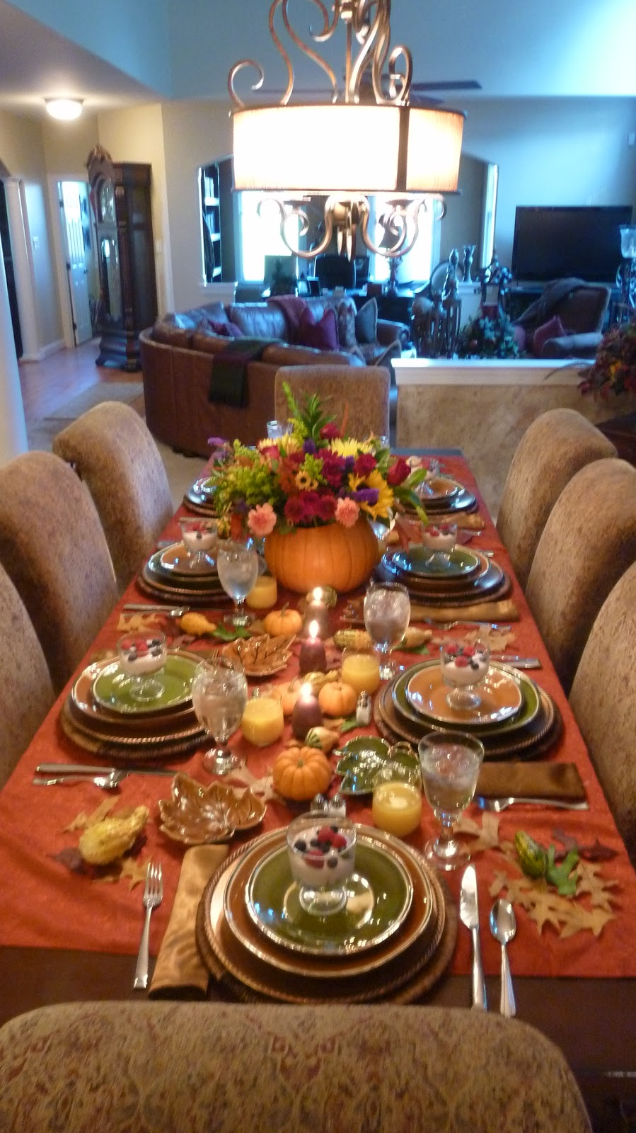 Need A Thanksgiving Tablescape Idea