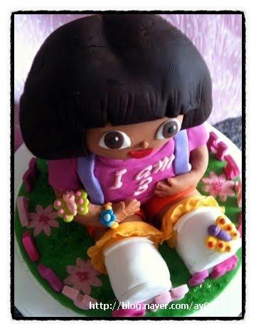 Sweet April The Story Of April Dora 3d Cake