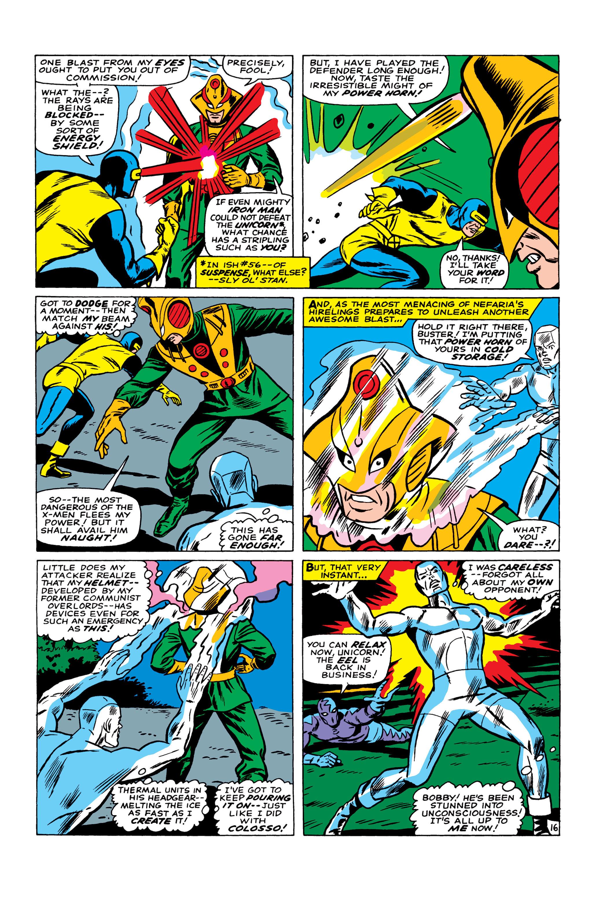 Read online Uncanny X-Men (1963) comic -  Issue #22 - 17