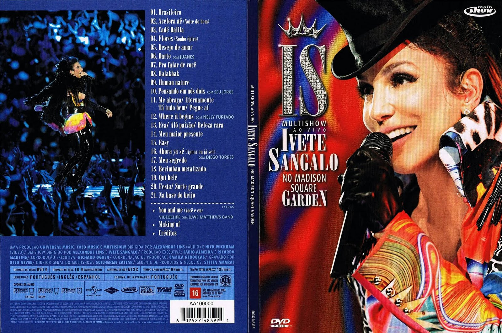 BAIXAR MADISON IVETE CD GARDEN NO SQUARE SANGALO