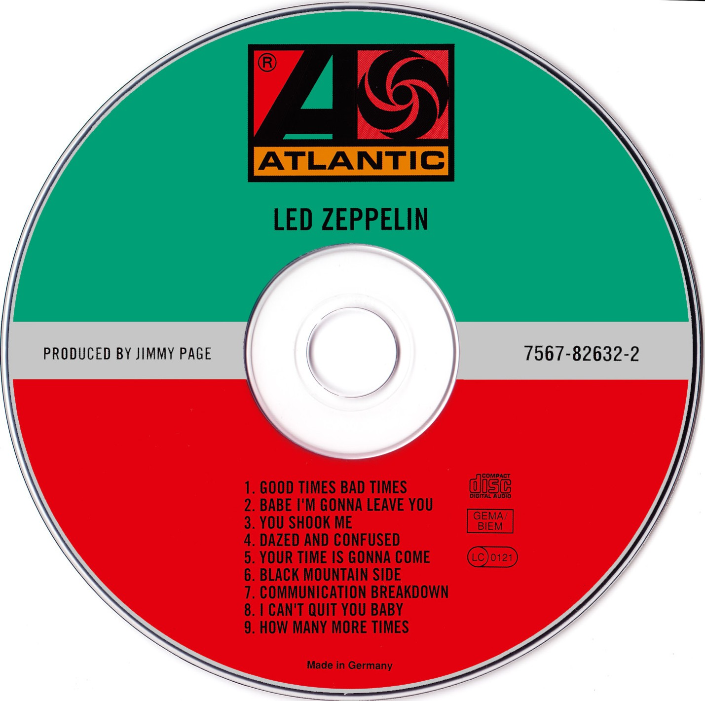 musicotherapia led zeppelin i 1969. Black Bedroom Furniture Sets. Home Design Ideas