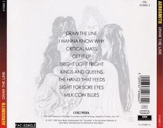 Musicotherapia Aerosmith  Draw The Line 1977