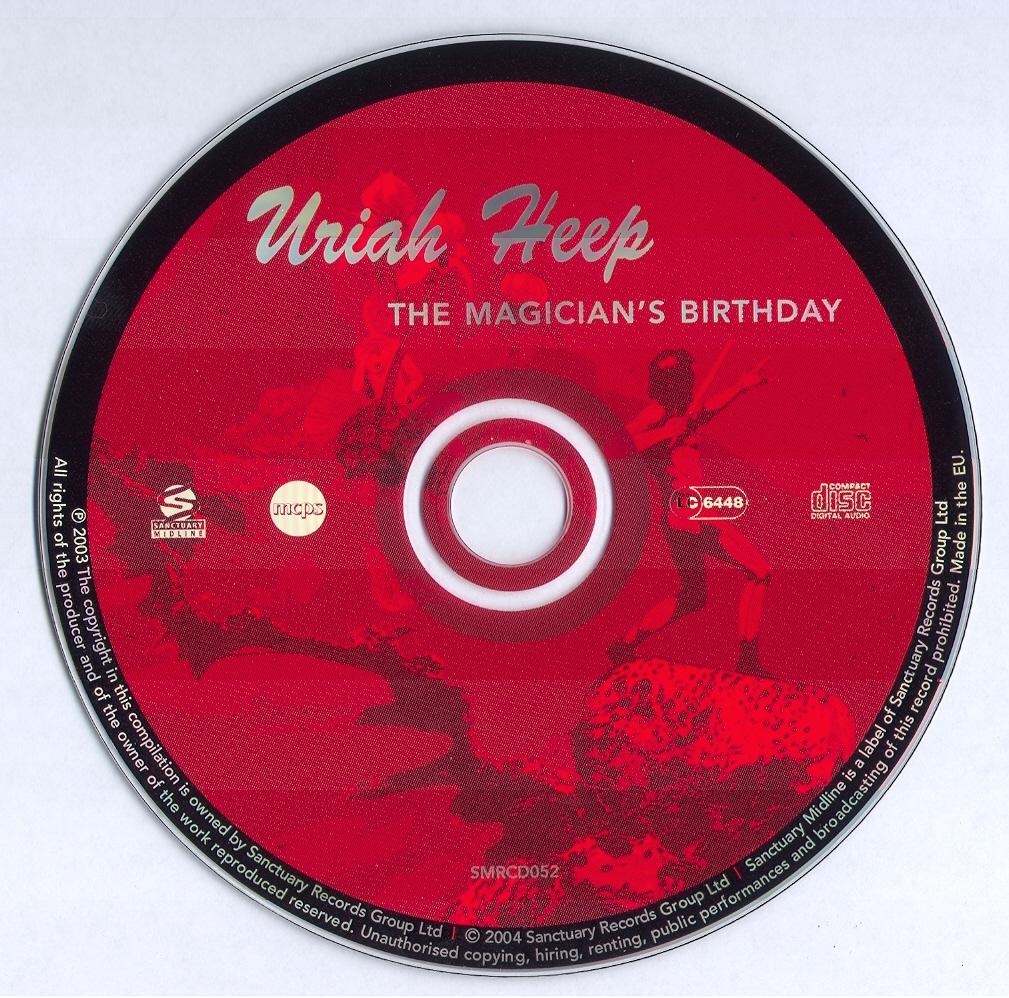 Musicotherapia: Uriah Heep - Magicians Birthday (1972)