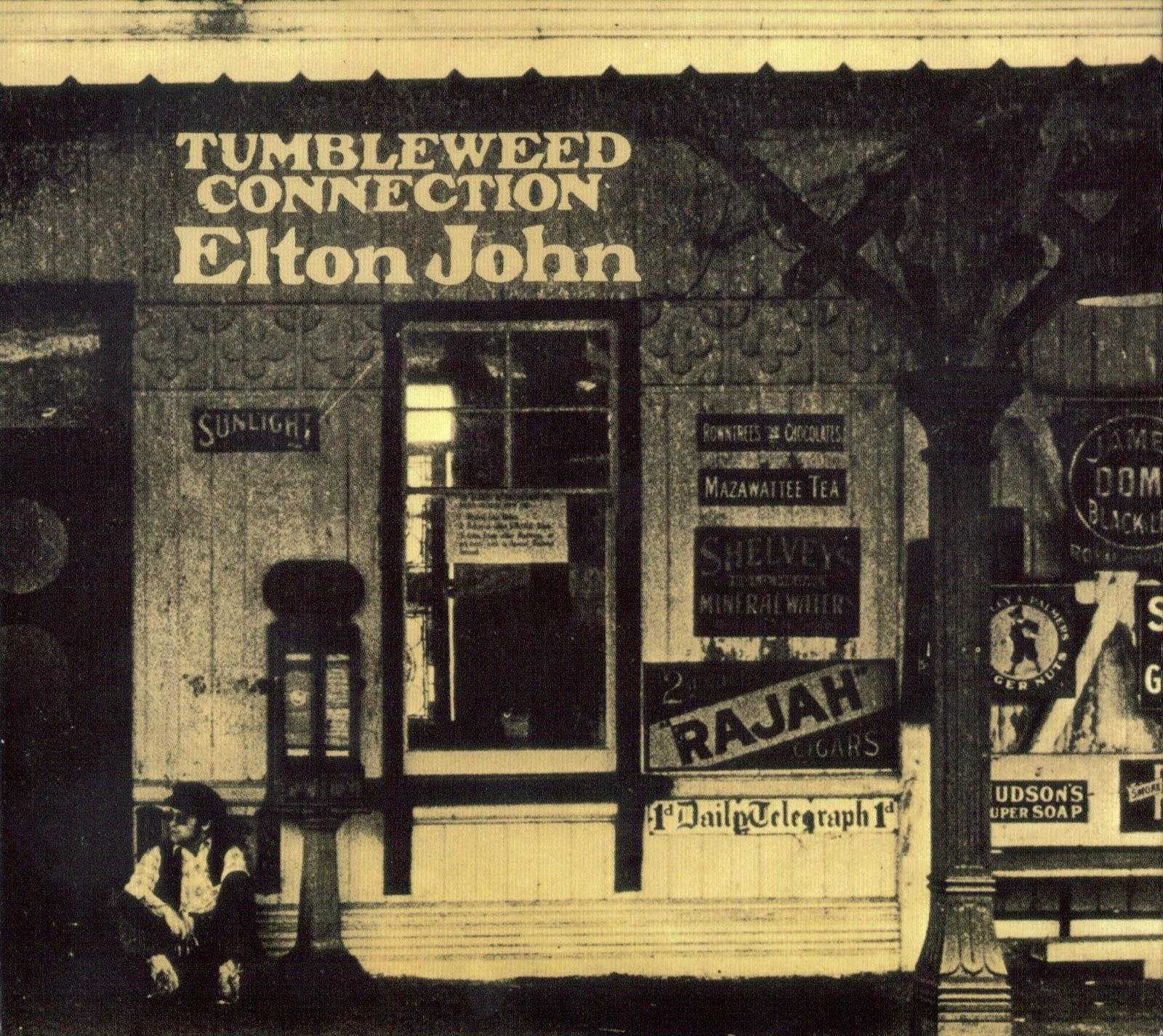 Musicotherapia Elton John Tumbleweed Connection 1970