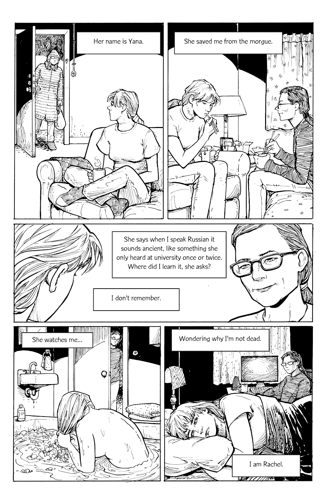 Read online Five Years comic -  Issue #6 - 6