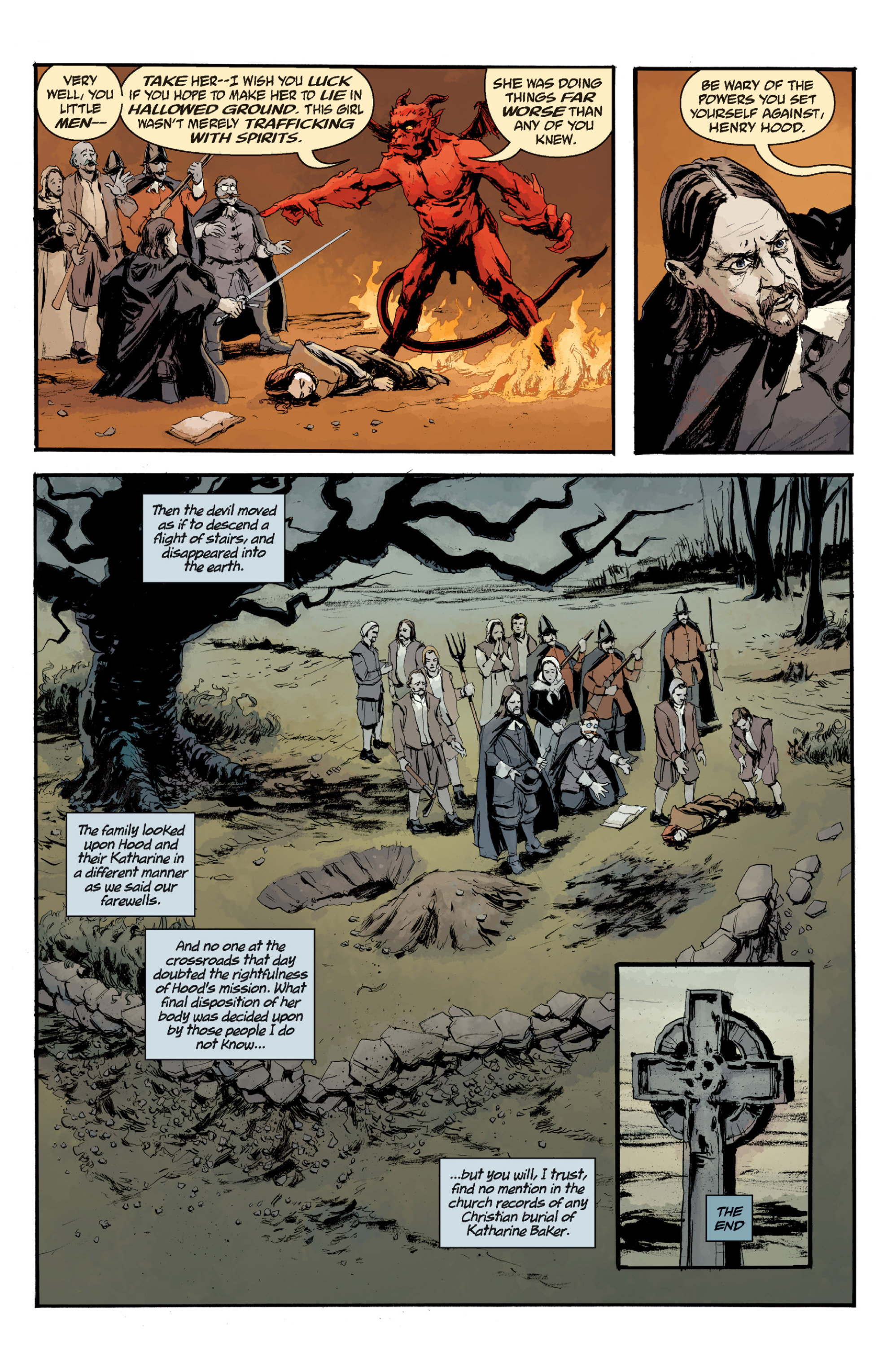 Read online Sir Edward Grey, Witchfinder: In the Service of Angels comic -  Issue # TPB - 141