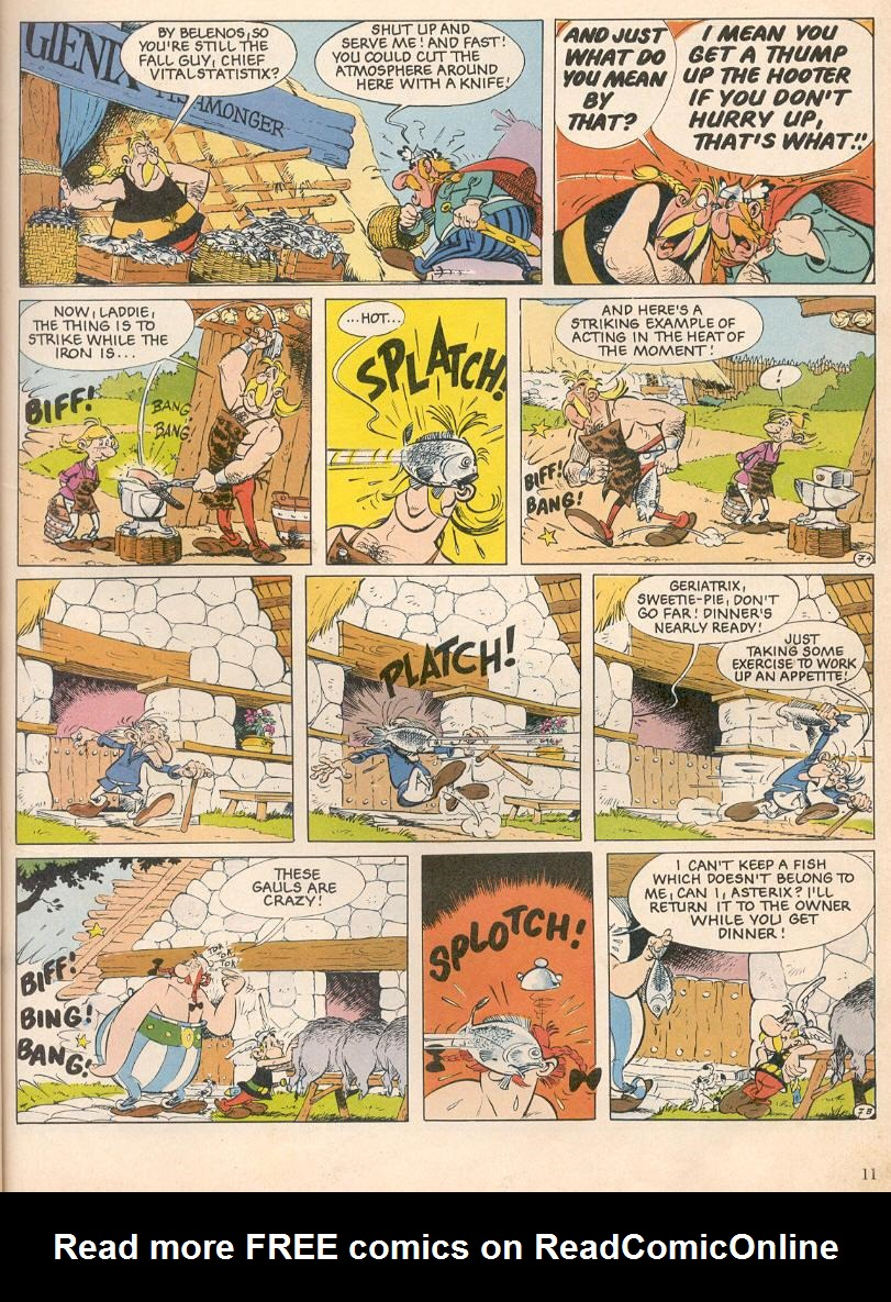 Read online Asterix comic -  Issue #25 - 8