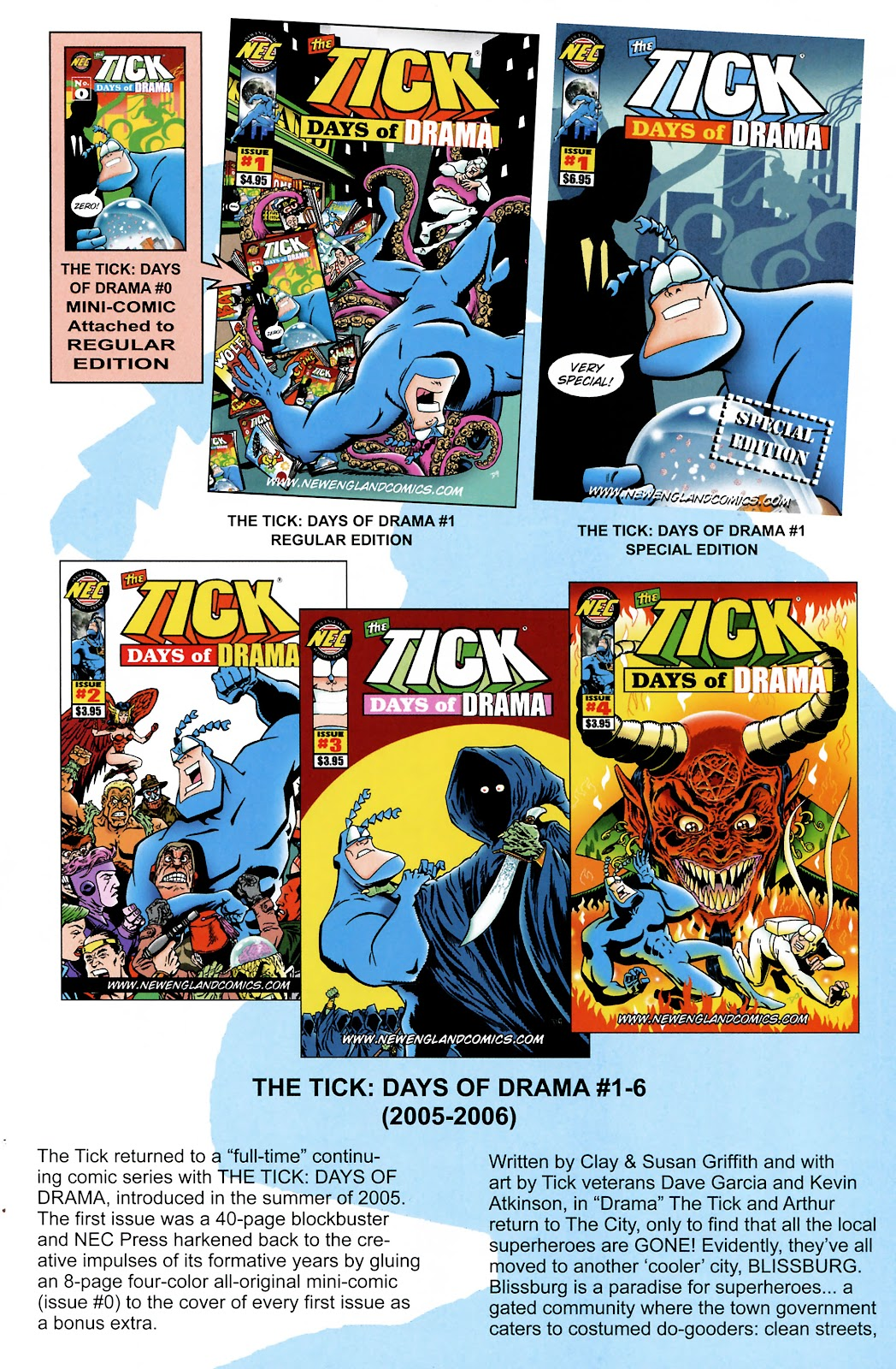 Read online The Tick comic -  Issue #101 - 39