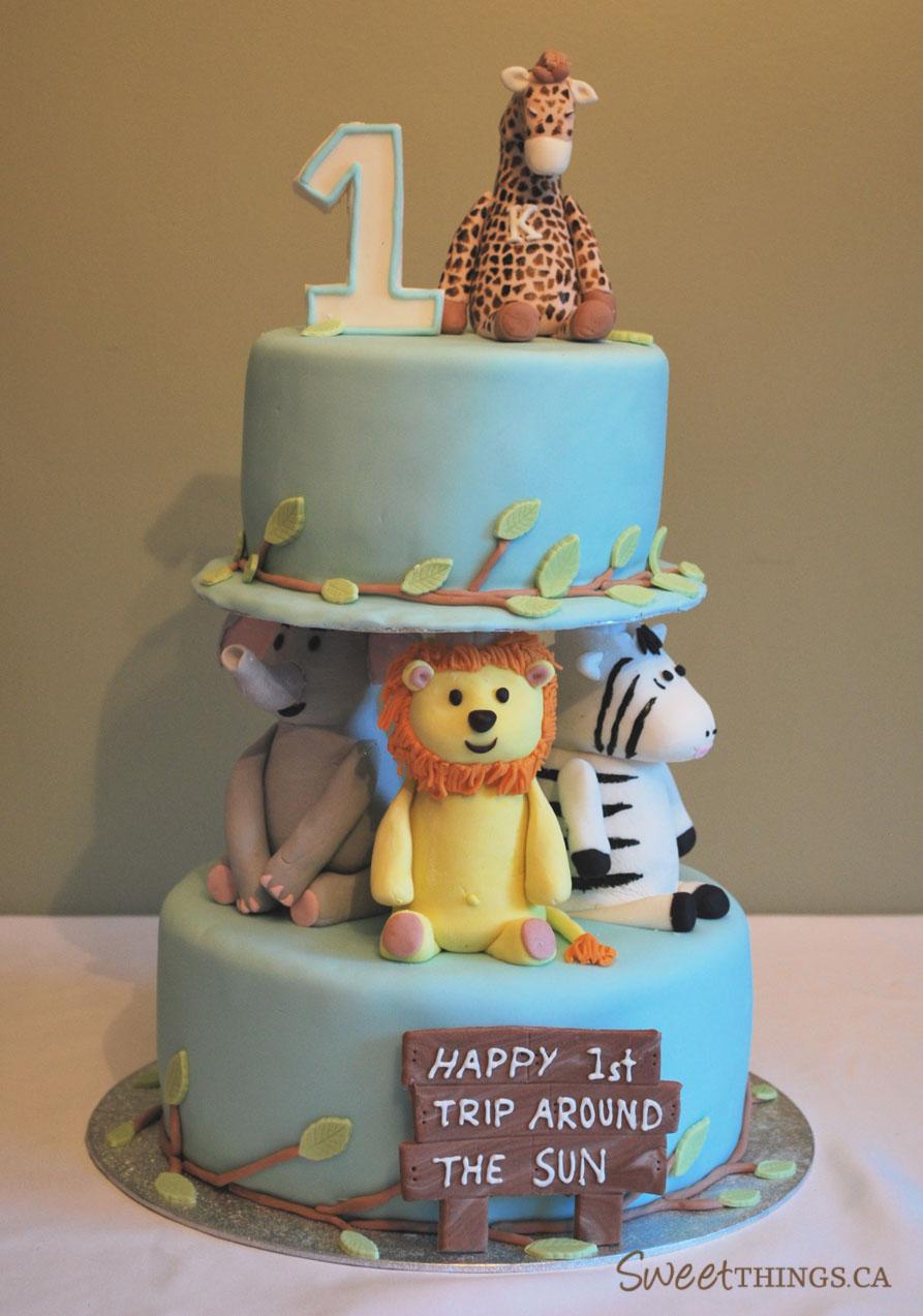 Sweetthings 1st Birthday Cake