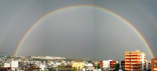 Arco iris en San Juan de Aznalfarache 01
