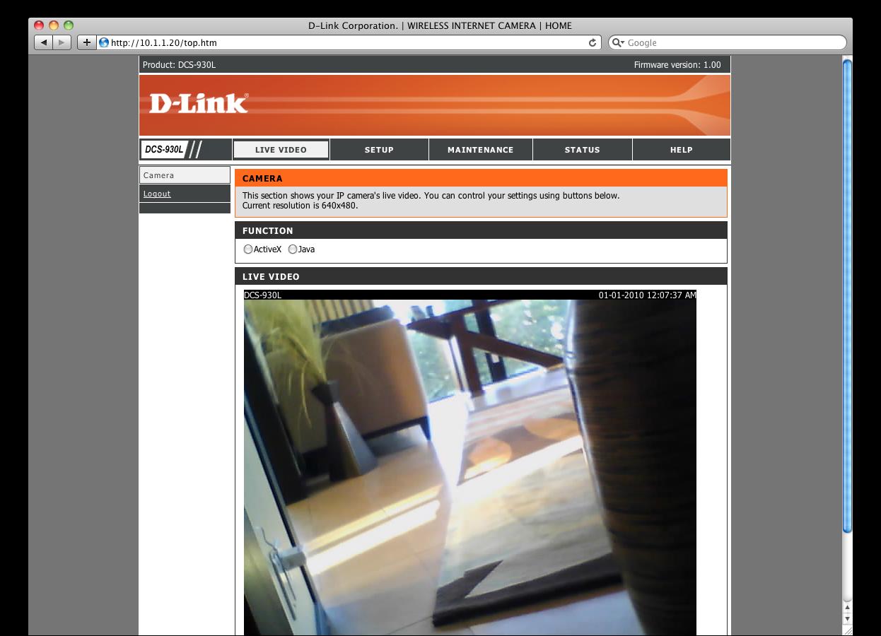 Link DCS-930L Ad...D Link Dcs 932l Software