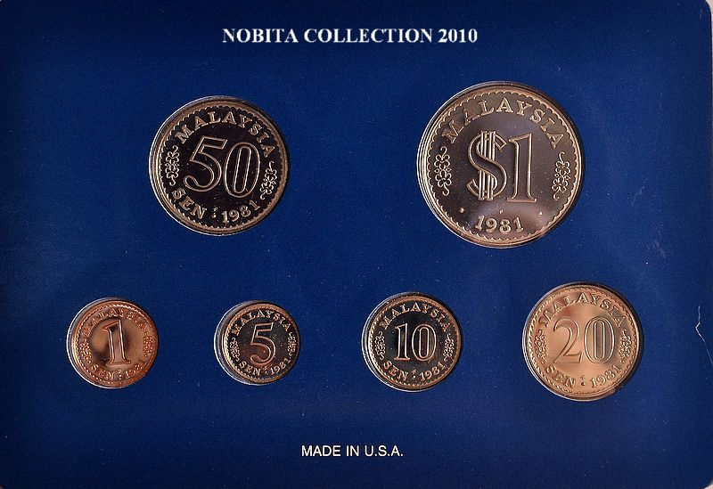 nobita's galleries: Malaysia Circulation Proof Coin Series