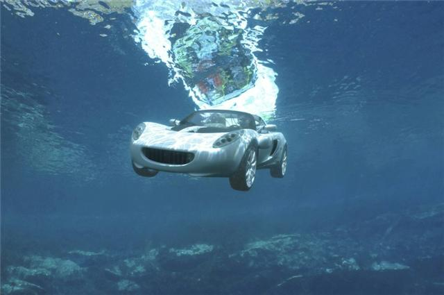 Auto Blog Imagine Car Can Drive Under Water