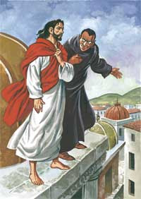 Satana tenta Gesù