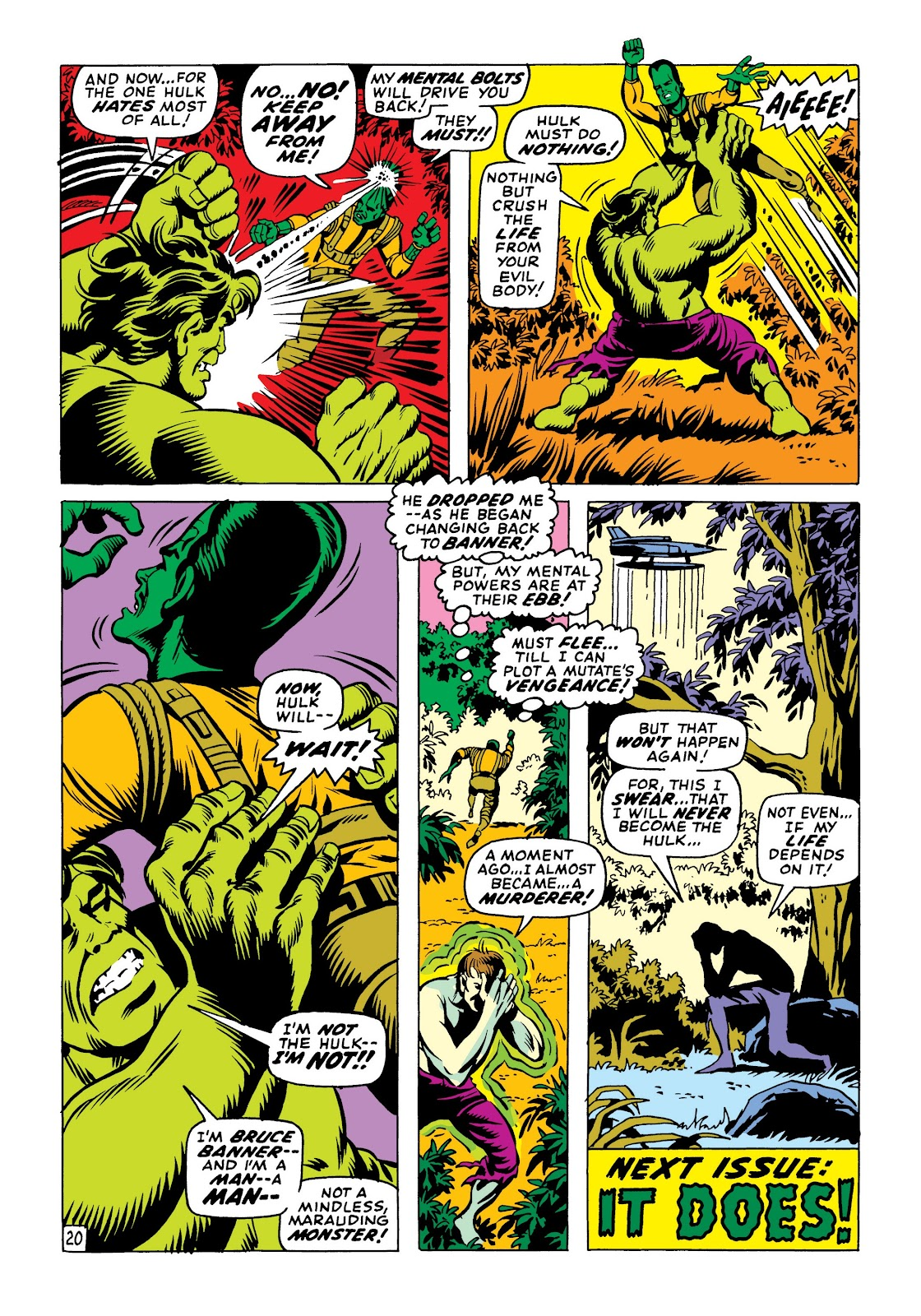 Read online Marvel Masterworks: The Incredible Hulk comic -  Issue # TPB 6 (Part 1) - 50