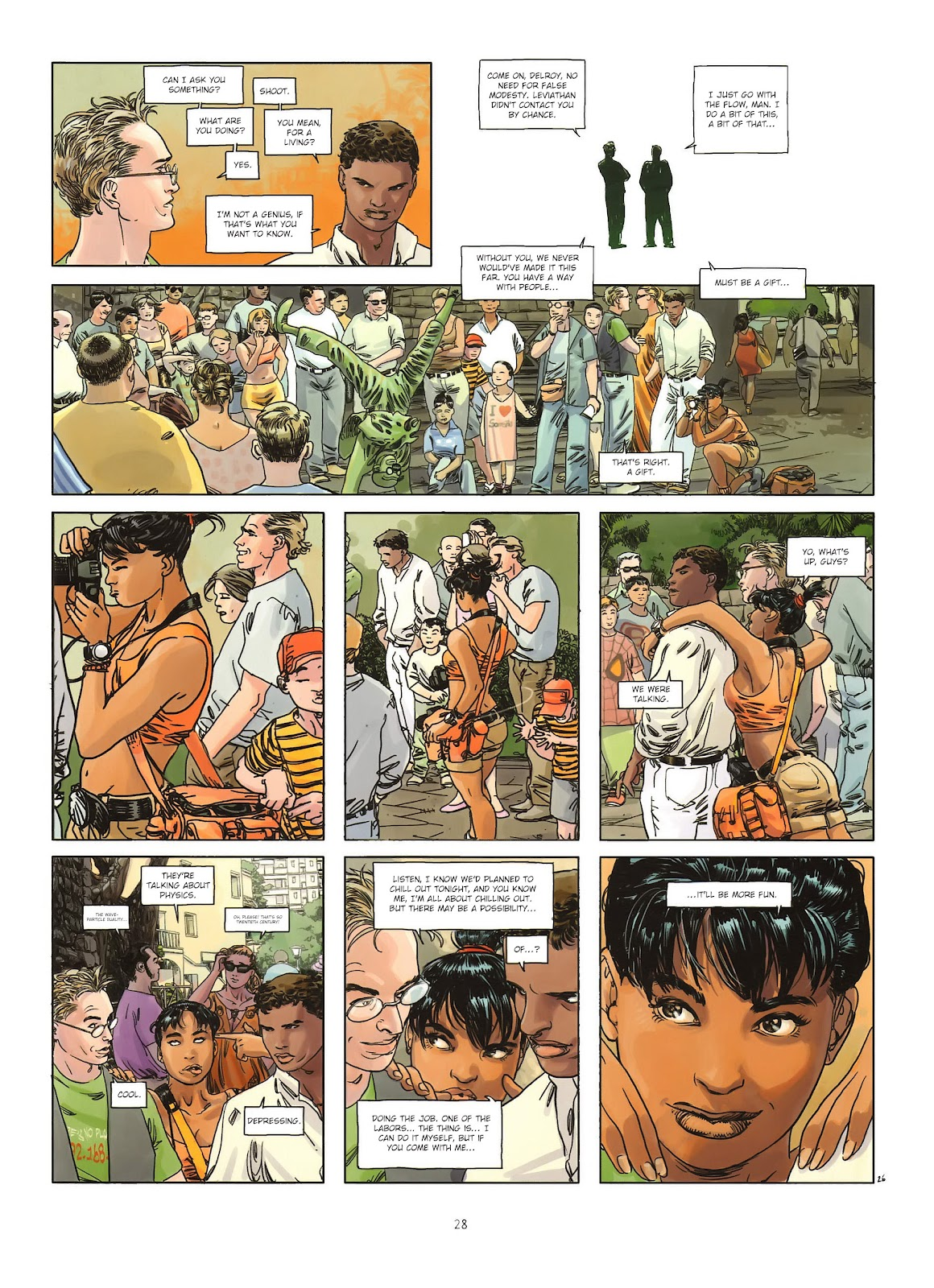 Read online Cutting Edge (2013) comic -  Issue #1 - 26