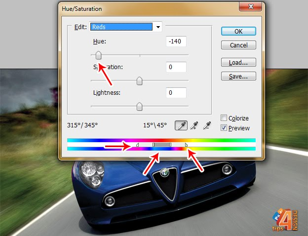 tips4design: [PS] 6 ways to change an object color in photoshop