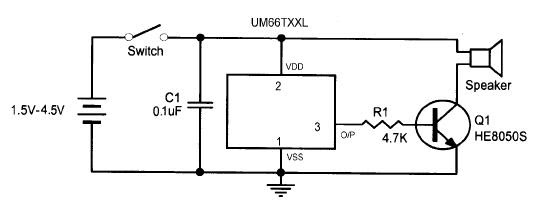 Electronic Integrated Circuits ( ICs ): Melody IC