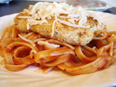 Chicken Parmesan I One Lovely Life