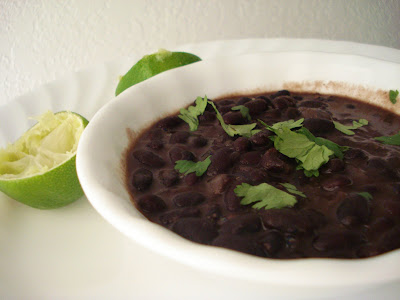 Spicy Black Beans I One Lovely Life