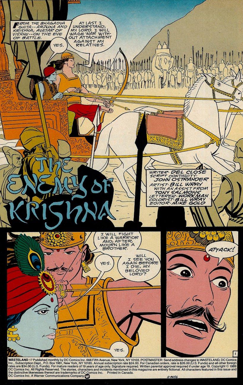 Wasteland (1987) 17 Page 2
