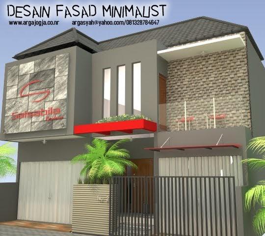 Jasa Desain Interior Ruko: Desain Fasad Minimalist Kos-Kosan Dan Ruang Usaha