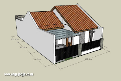Desain Sketch Eksterior Rumah Mungil Minimalis Type 36 Part 2 Argajogja S Blog